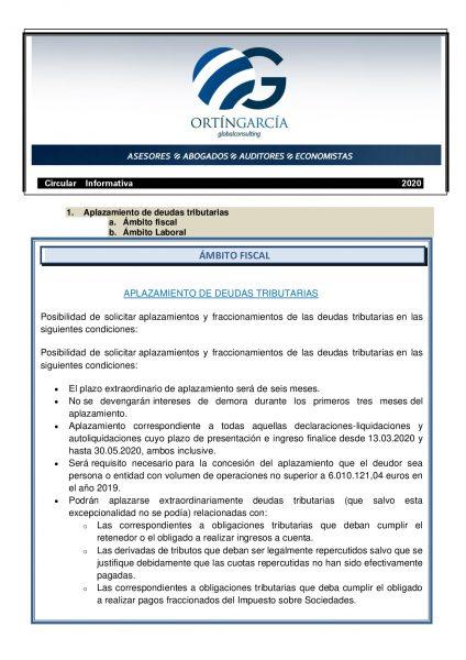 1 cirucular informativa covid 19 (espaÑol)